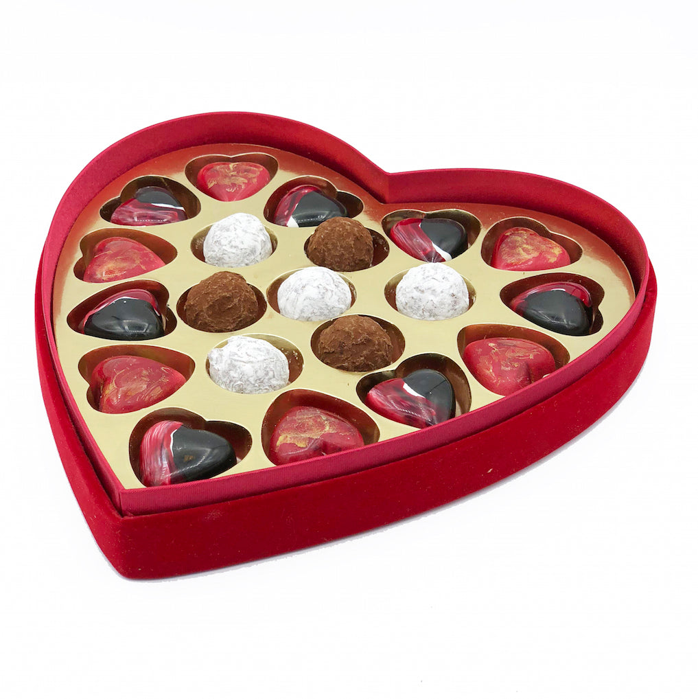 Heart Chocolate Selection Box 20 piece