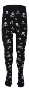 Slugs & Snails 'Ahoy!' skull & crossbone unisex tights