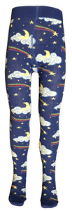 Slugs & Snails 'Lemon Lightening' unisex tights