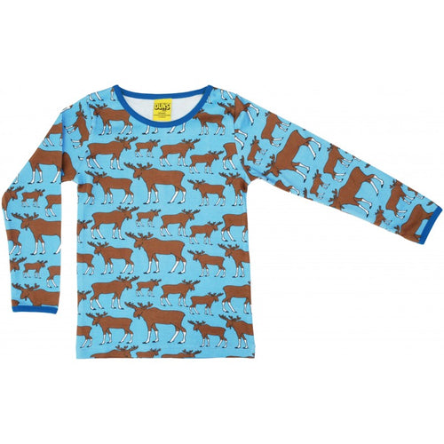 DUNS Autumn 2018 | Moose Blue | Long Sleeve Top
