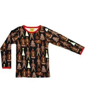 DUNS Christmas Gingerbread Long Sleeved top