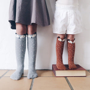 Mini Dressing Over-Knee Fox / Racoon Socks