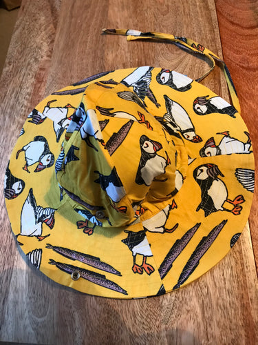 DUNS Summer 2018| Wowen Sunhat with Wide Brim |  Puffin Yellow