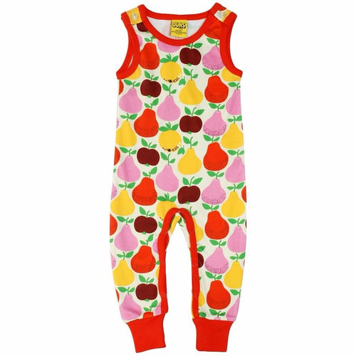 Summer 2018| Fruits, Mandarin Red & Yellow| Dungaree