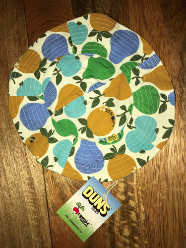 DUNS Summer 2018| Woven Sunhat with Wide Brim |Fruits, Turquoise/ Green