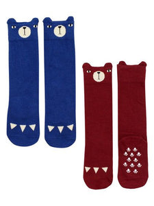 Mini Dressing Over-Knee Bear Socks