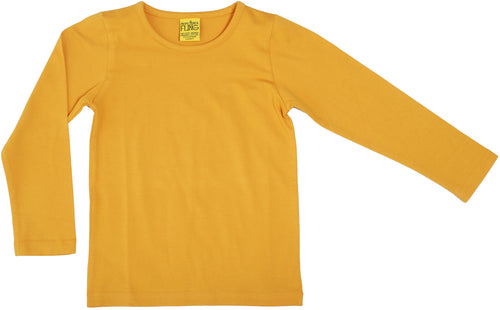 DUNS Autumn 2018| More Than a Fling | Long Sleeve Top | Mustard