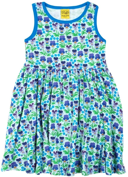 DUNS Sweden Twirly Gather dress in Violet