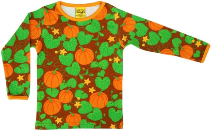 DUNS  Halloween 2018 | Pumpkin Brown | Long Sleeve Top INCL ADULT X-LARGE