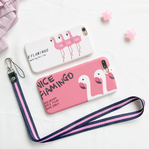 Flamingo Soft iPhone Case