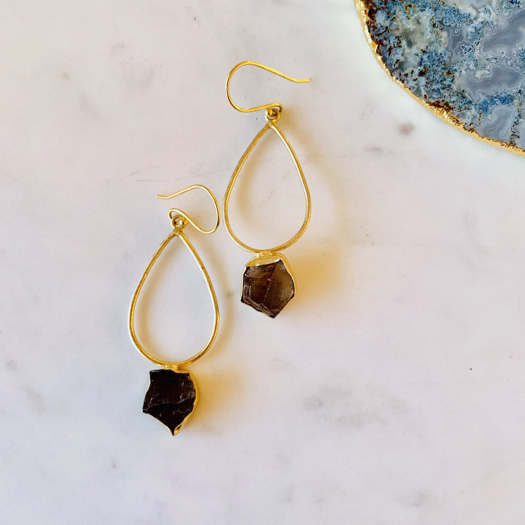 Rough Stone Earring