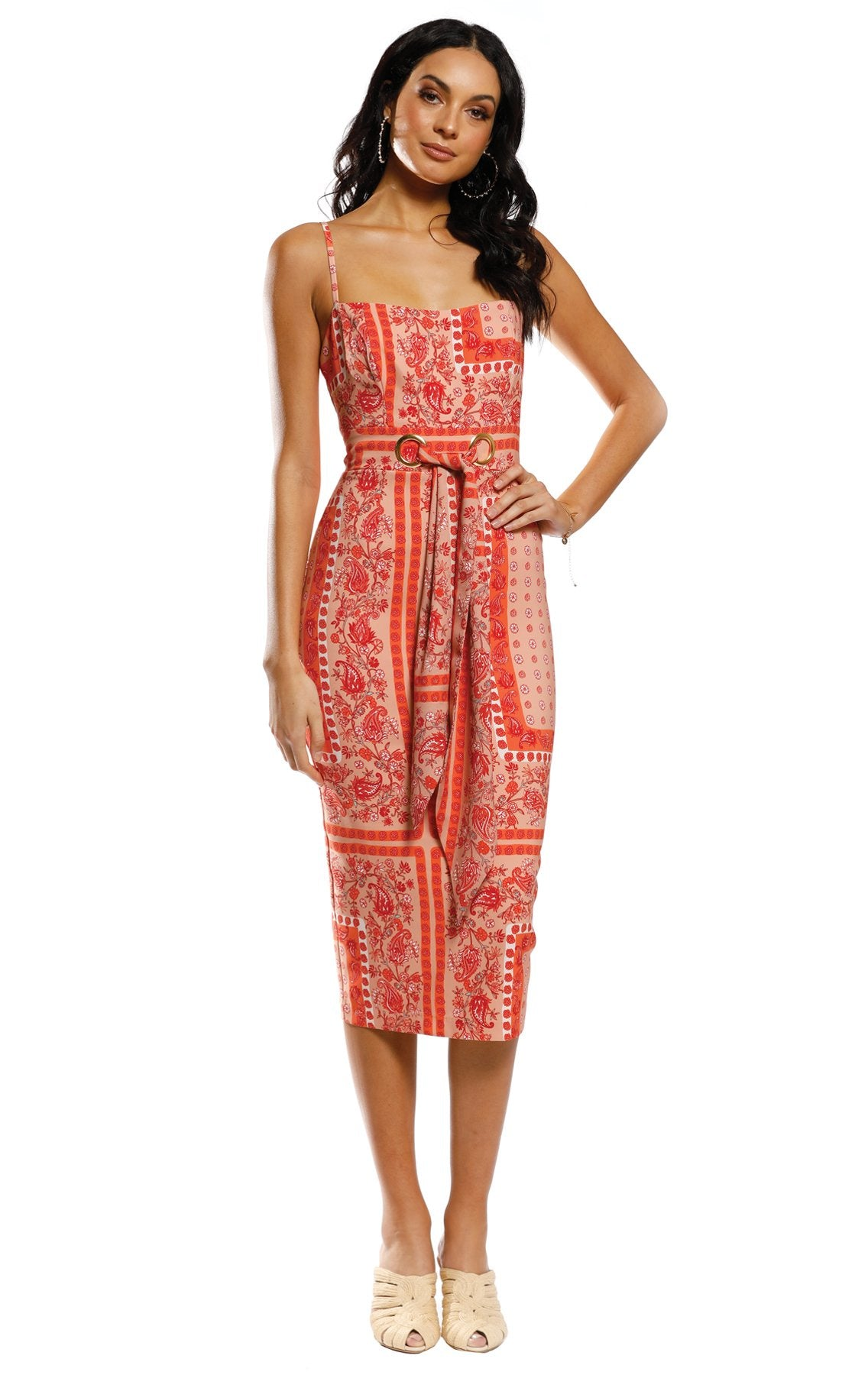 Sunset Scarf Midi