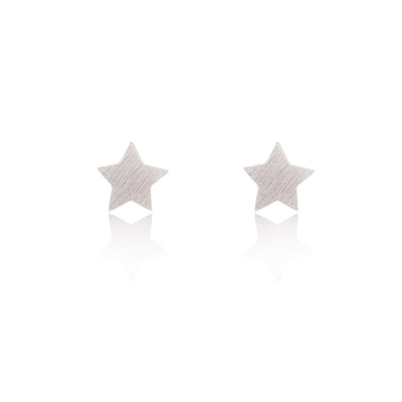 Star Stud Sterling Silver