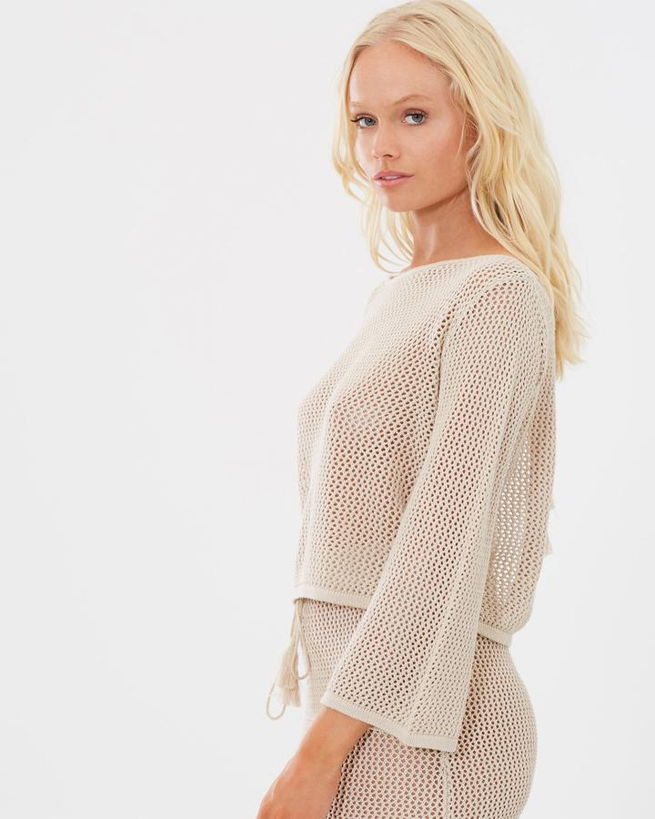 Amalfi Crochet Knit Top