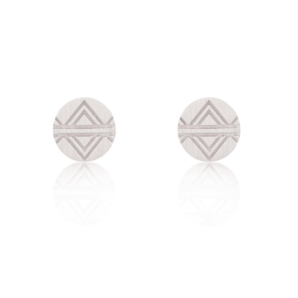 Journey Stud Sterling Silver