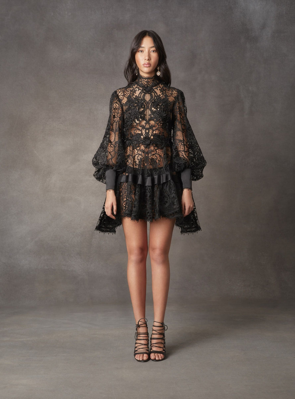 Juno Lace Mini Dress