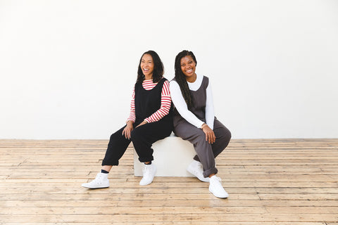 Anisah and Nyree in the Laura Jumpsuit
