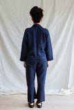 Linen Coveralls - Midnight Navy (MADE TO ORDER)