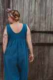 Savannah Jumpsuit - Light Indigo
