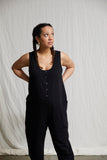 Poppy Jumpsuit - Black