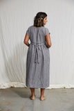 Linen Summer Dress - Gingham