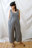 Savannah Jumpsuit - Gingham