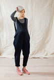 Laura Drop Arm Jumpsuit Black