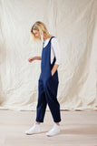 Laura Drop Arm Jumpsuit - Navy