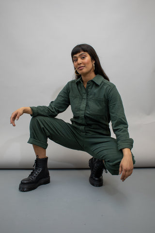 Coverall - Sea Green