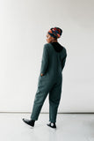 Maia Jumpsuit - Pine Green