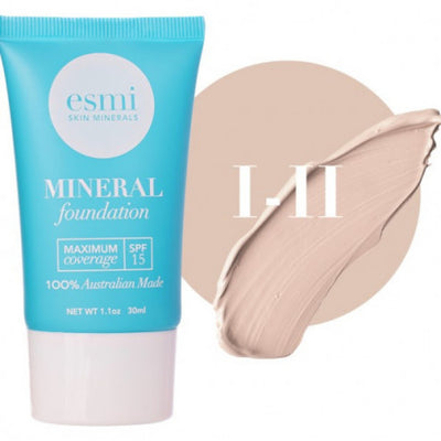 Esmi Mineral Liquid Foundation Colour 1-2