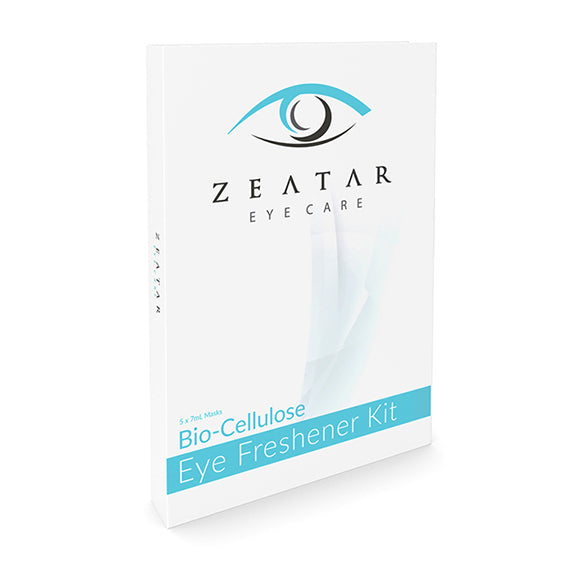 ZEATAR Eye Freshener Kit includes 5 Under Eye Mask Sachets