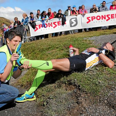 Avoiding muscle  cramps during competitions
