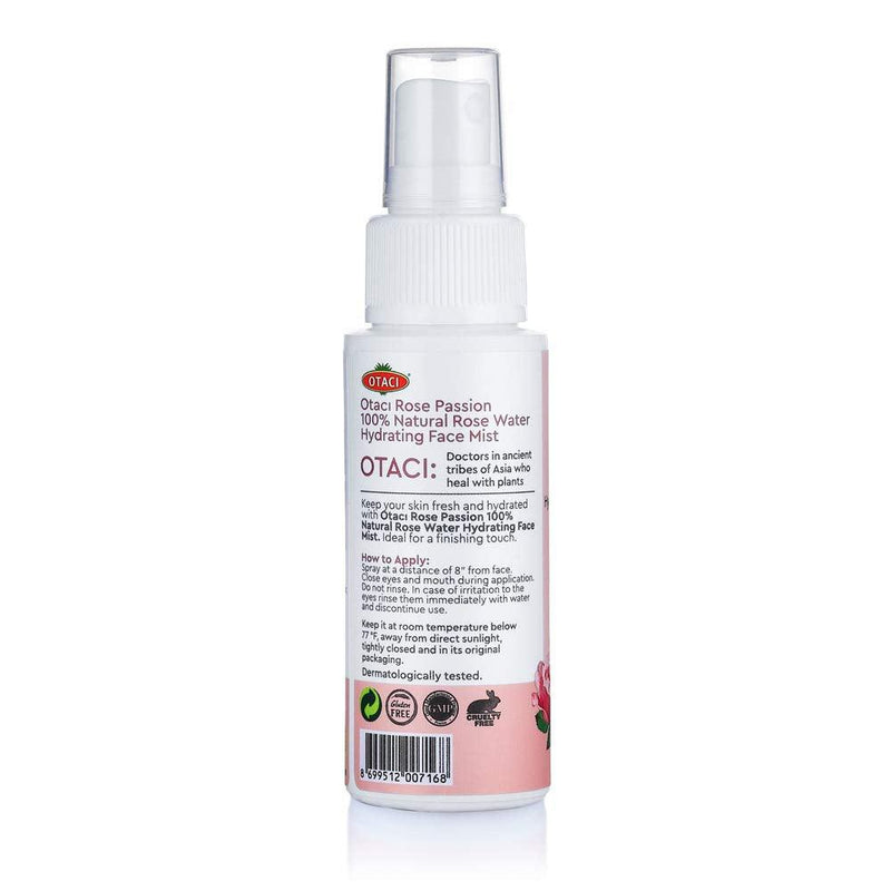 rose water spray how to apply