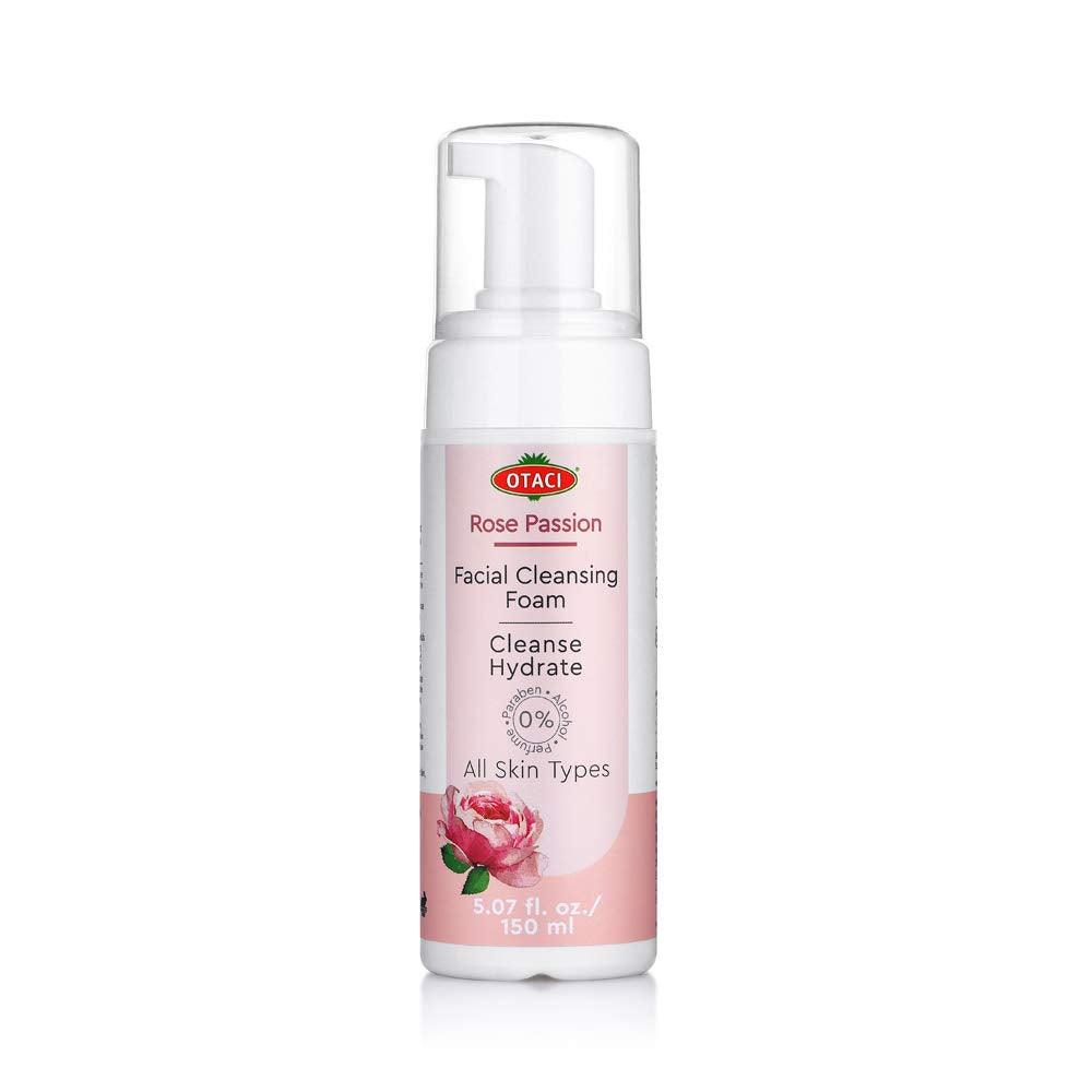 Otaci Rose Water Face wash facial cleanser