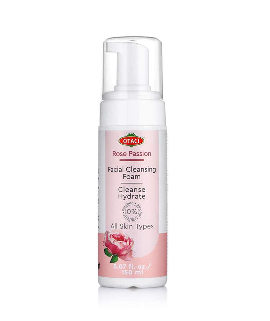 OTACI Rose Passion Facial Cleansing Foam | Face Wash Cleanser