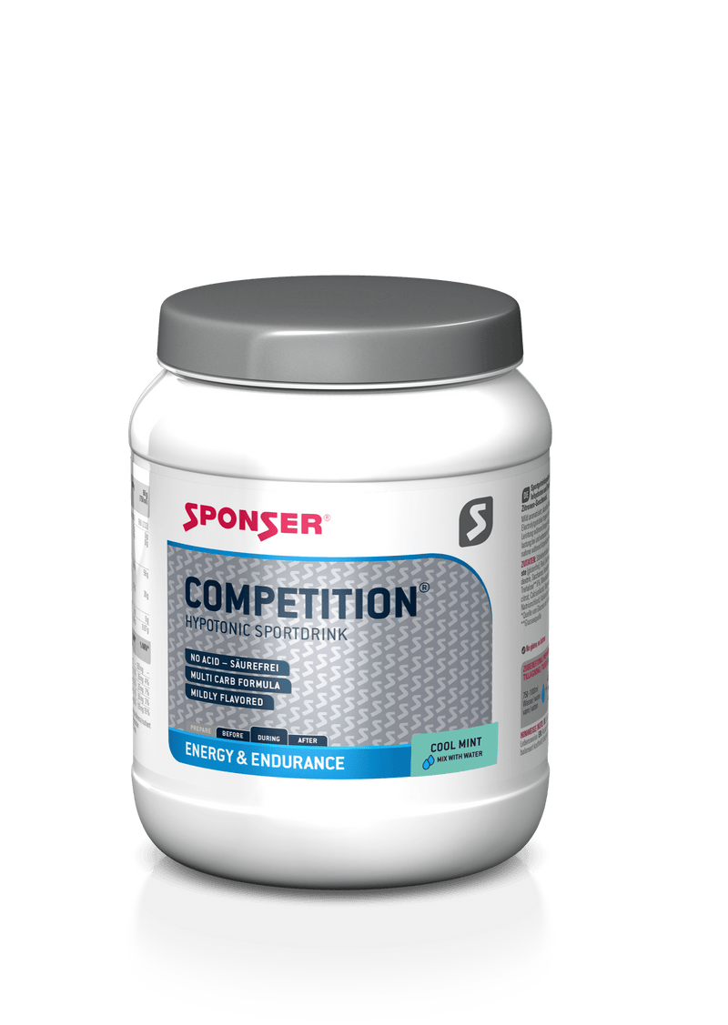 Sponser Competition Sport Drink Cool Mint 1000g jar