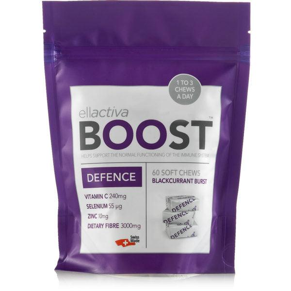 ELLACTIVA BOOST™ DEFENCE BLACKCURRANT BURST | 60 SOFT CHEWS