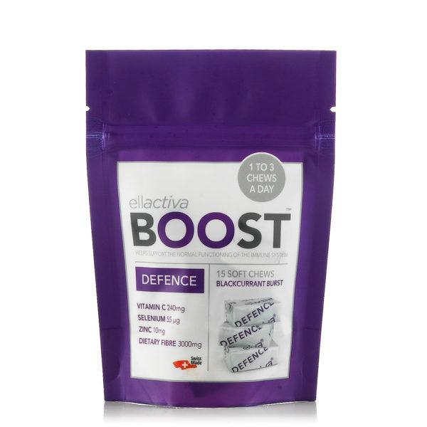 ELLACTIVA BOOST™ DEFENCE BLACKCURRANT BURST | 15 SOFT CHEWS