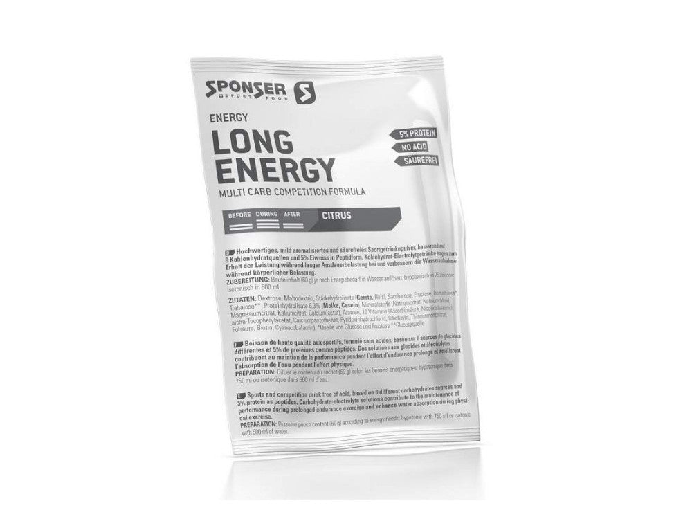 Sponser Long Energy 5% Protein Sport Drink Citrus