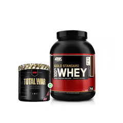 Optimum Nutrition 100% Whey Gold Standard 5lb + REDCON1 Total War