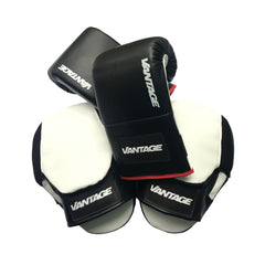 VANTAGE STRENGTH - Boxing Gloves and Focus Pad Training Kit