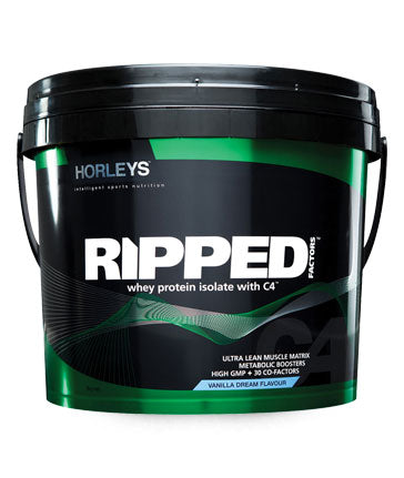 Ripped Whey Protein Isolate WPI by Horley's (3KG)