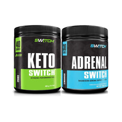 Keto Switch + Adrenal Switch Pack