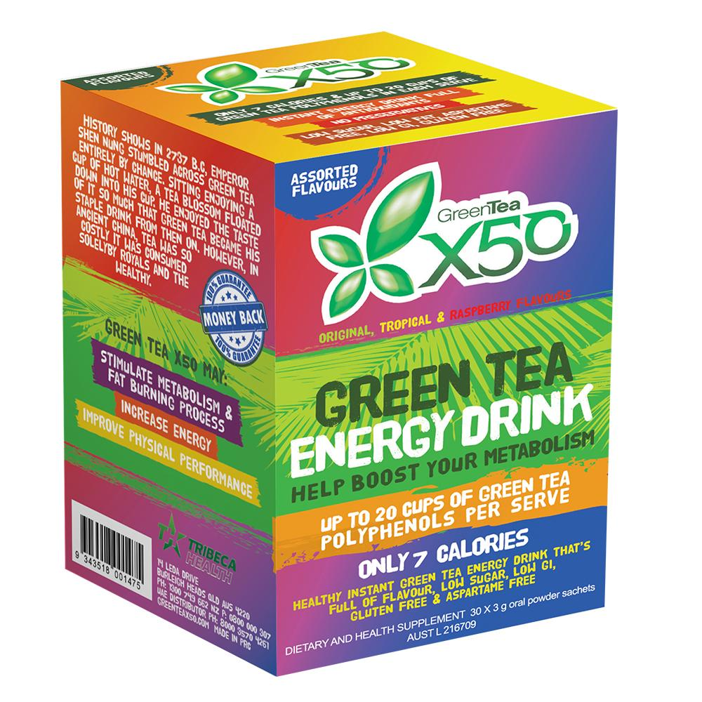 X50 Green Tea Assorted Pack
