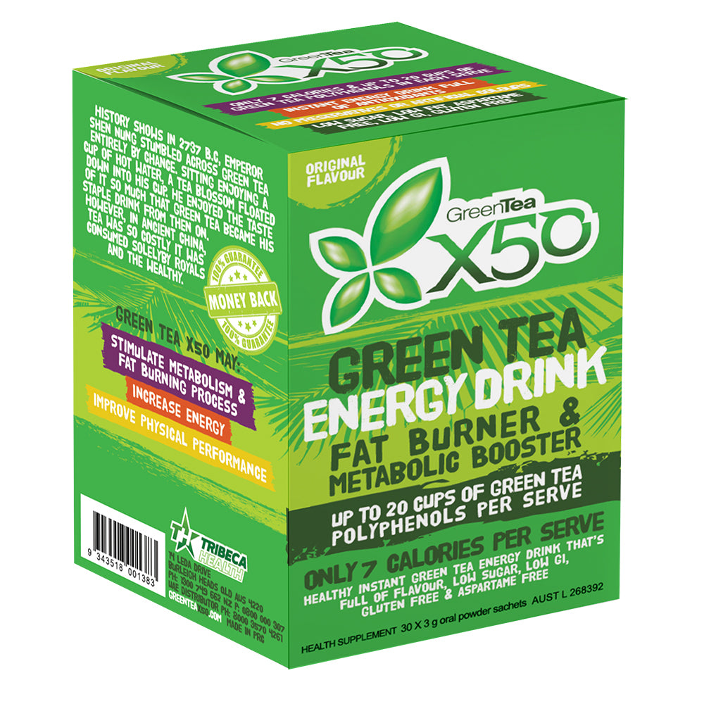 X50 Green Tea Original Flavour