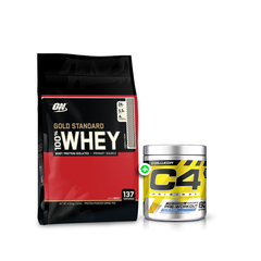Optimum Nutrition Whey 10lb + C4 30 Serves
