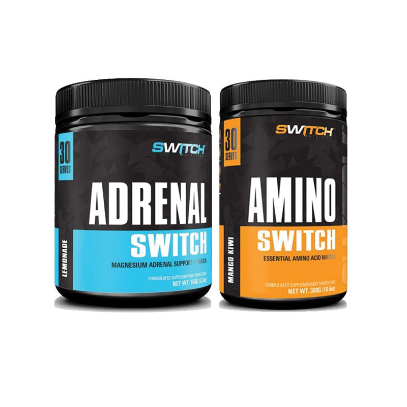 Adrenal Switch + Amino Switch Pack