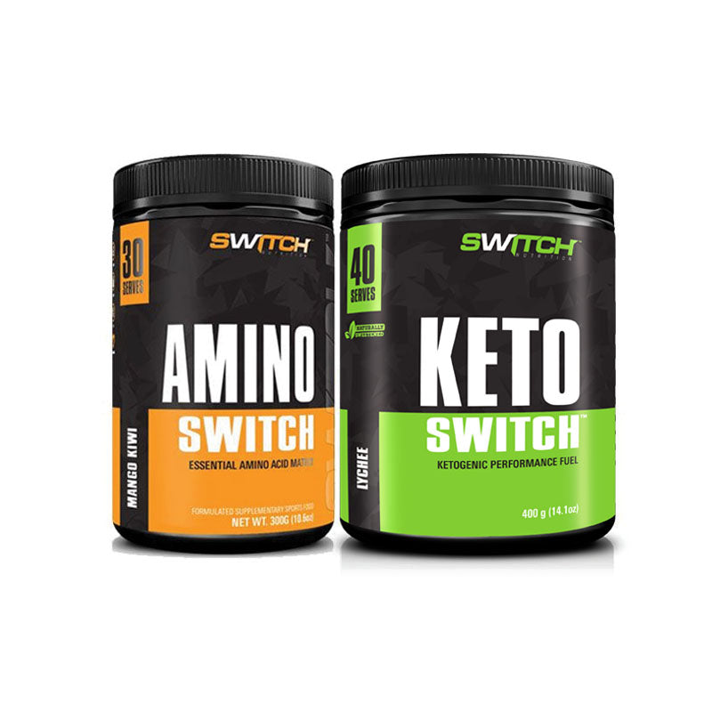 Keto Switch + Amino Switch Pack