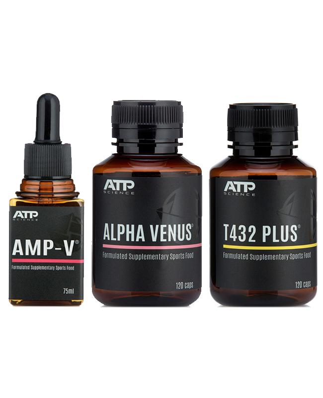 ATP Science AMP-V + T432 Plus + Alpha Venus
